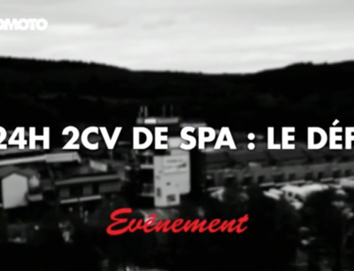 Reportage pour AUTOMOTO – 24H 2CV SPA : le défi